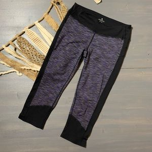 Athleta Space Dye Crop